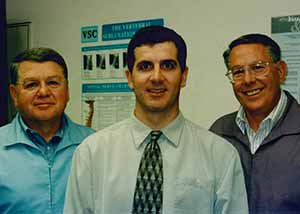Drs. Dave, Jeff and Richard Pokorny