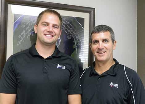 Dr. Jeff & Mason Pokorny